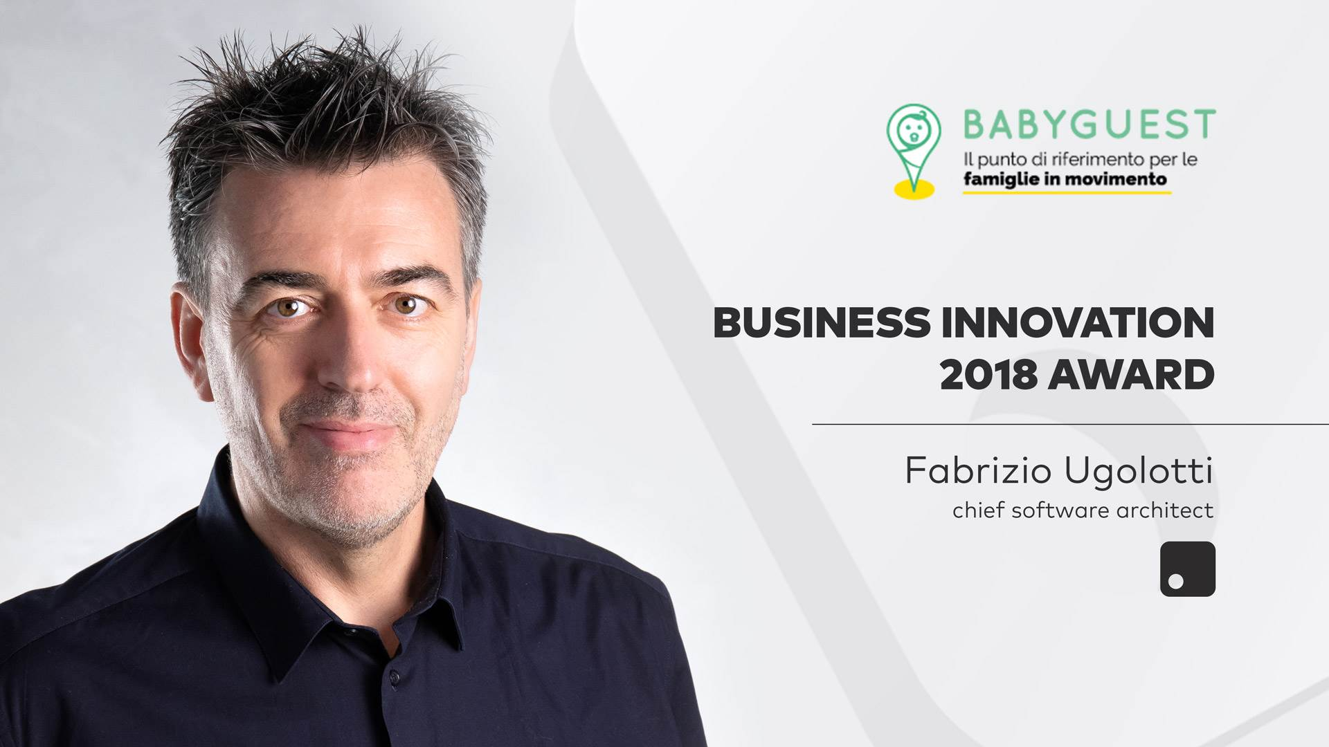 BabyGuest.com<br>Premio Business Innovation 2018