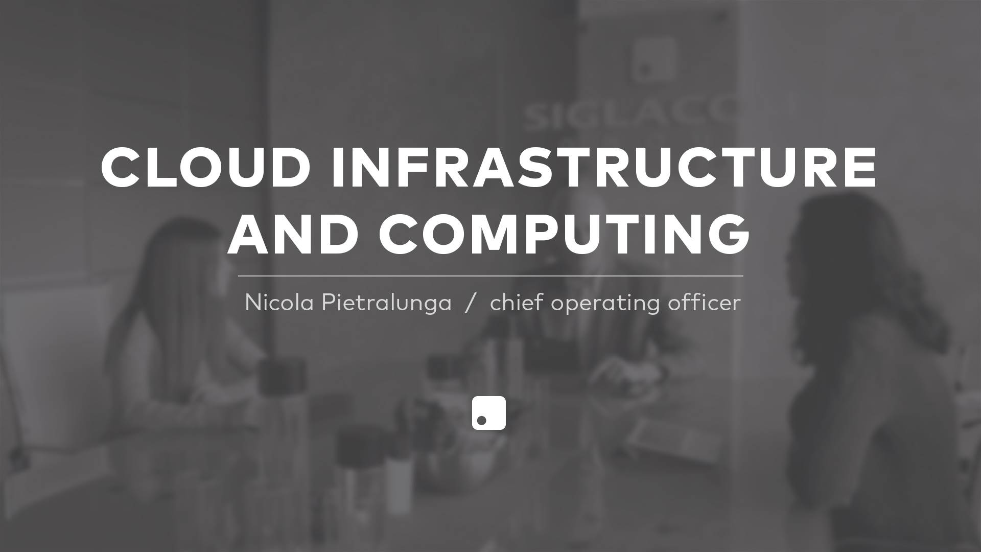 Cloud infrastructure and computing