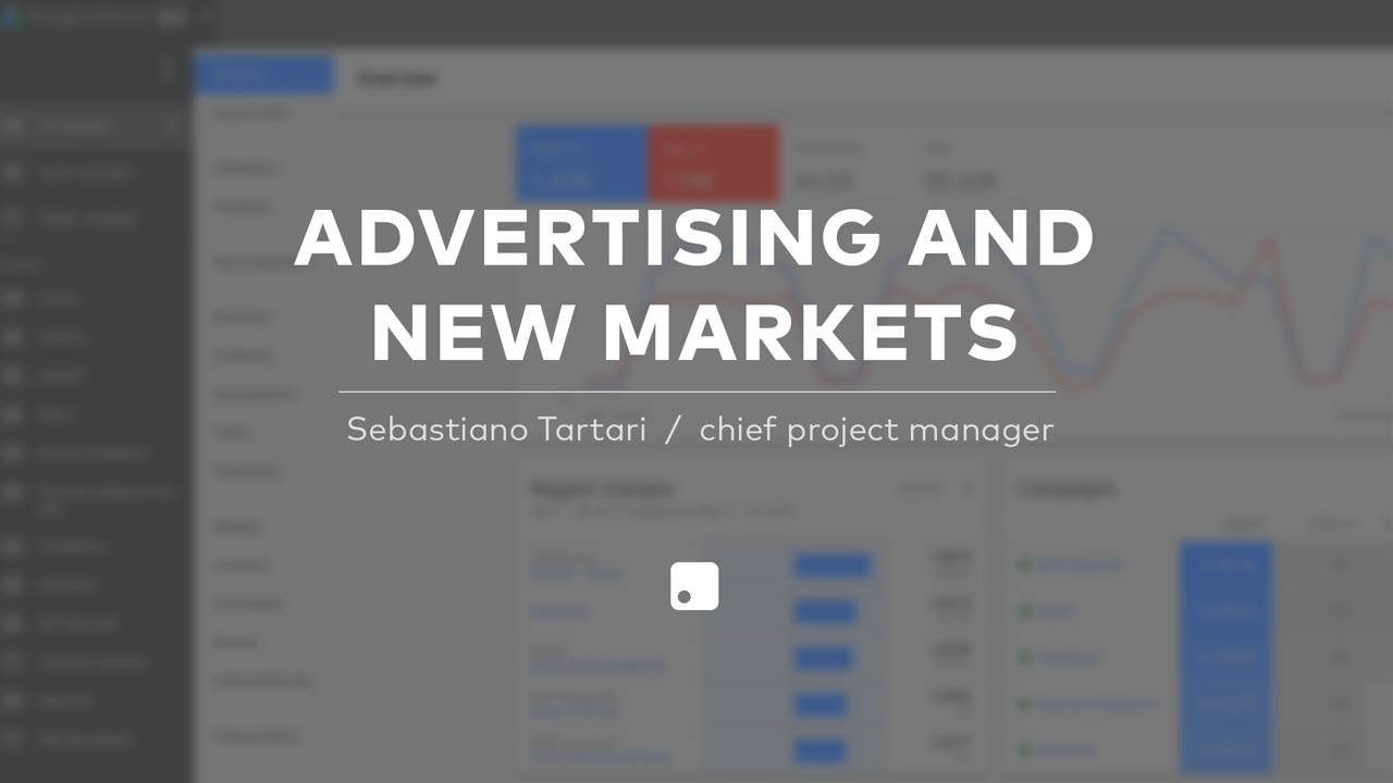 Advertising and New Market