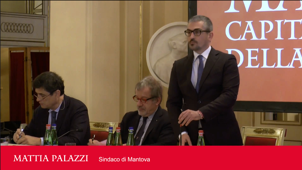 From physical event to viral message<br />Italian Capital of Culture press conference