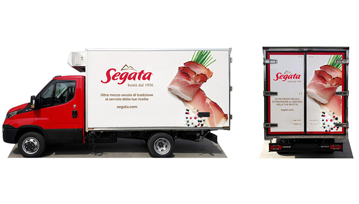 Graphic restyling for business vehicles