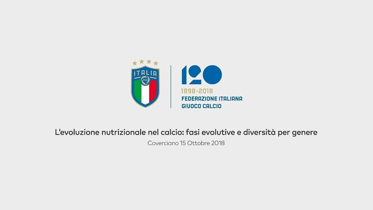 FIGC <br>Sports nutrition conference with Matteo Pincella